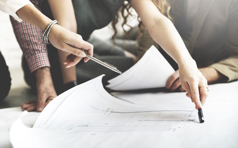 Planung und Fertigung